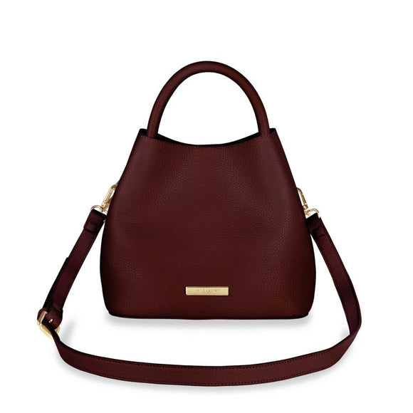Katie Loxton  Sienna Slouch Bag | Burgundy