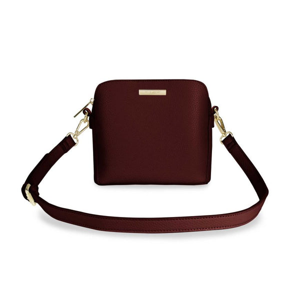 Katie Loxton  Bella Box Bag | Burgundy