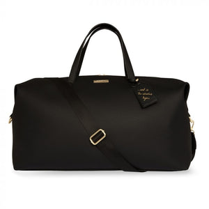 Katie Loxton Weekend Holdall Duffle Bag | Black