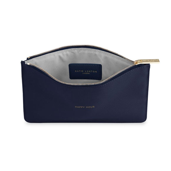 Katie Loxton Happy Hour Navy Perfect Pouch