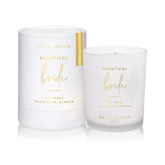 Katie Loxton Sentiment Candle | Beautiful Bride