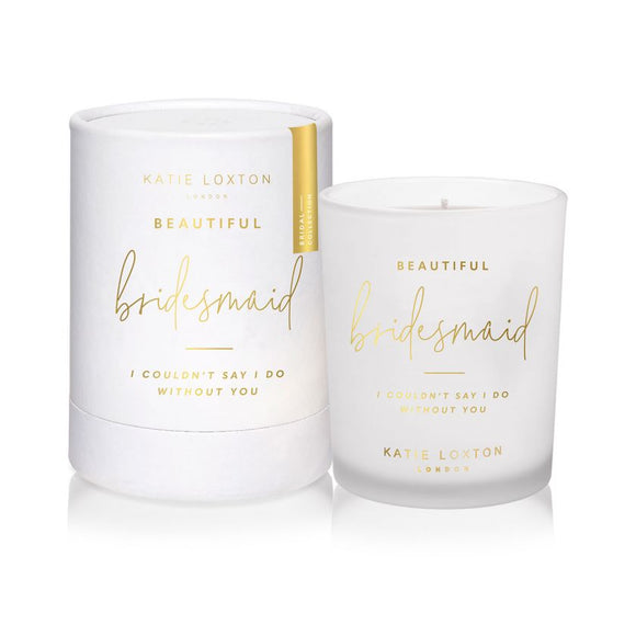 Katie Loxton Sentiment Candle | Beautiful Bridesmaid