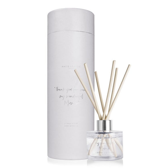 Katie Loxton THANK YOU FOR BEING MY WONDERFUL MUM X REED DIFFUSER | CITRUS OCEAN - Gifteasy Online