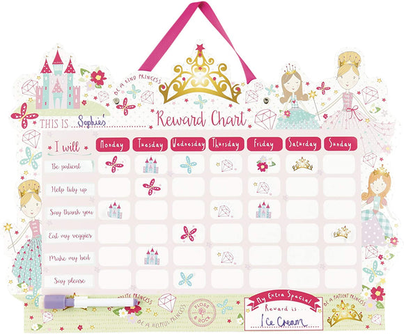 Floss & Rock Reward Princess Chart