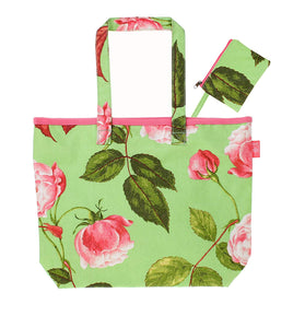 "gifteasyonline - Ulster Weavers 13"" x 10"" RHS Design Rosa Oilcloth Shopper Bag and Purse - Ulster Weavers - Bag"