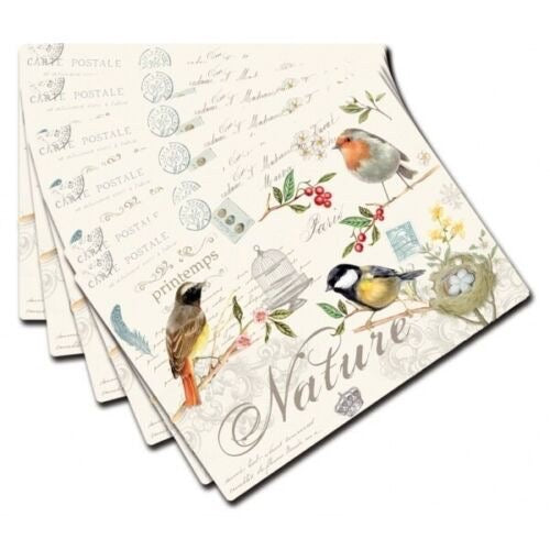 Stow Green Song Bird Place Mats