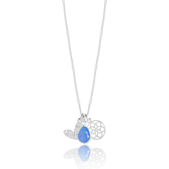 gifteasyonline - Joma Jewellery Summer Stories Silver Plated Pendant Necklace Happiness - Joma Jewellery - necklace