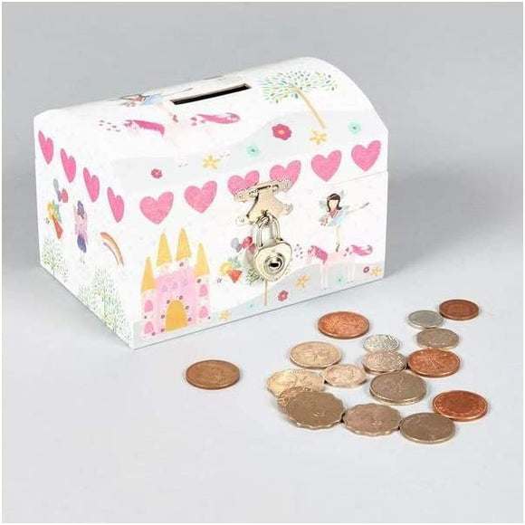 Floss & Rock Lockable Moneybox for Kids