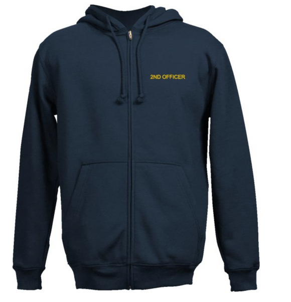 Second Officer SweatShirt-Navy Blue