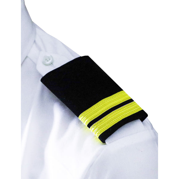 Professional Mariner Epauletes-2 bars-Second Officer-Blazer Cloth