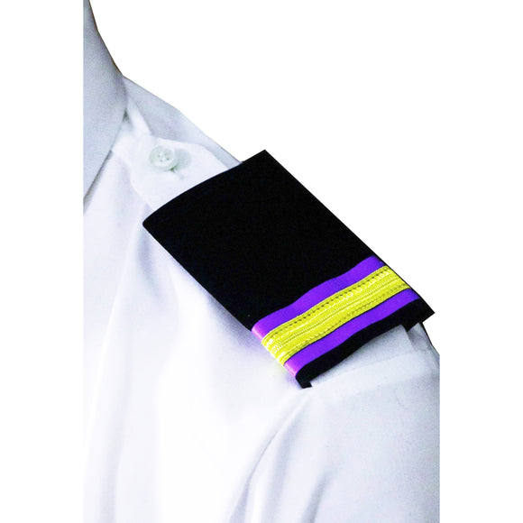 Professional Mariner Epauletes-Fourth Engineer-Blazer Cloth