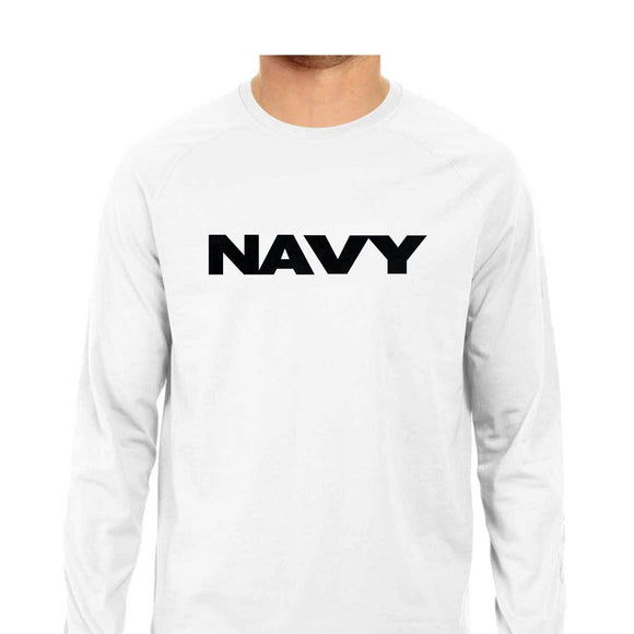 NAVY-FULL SLEEVE TSHIRT