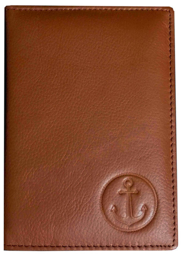 Premium Quality Passport/CDC/COC Holder-BROWN
