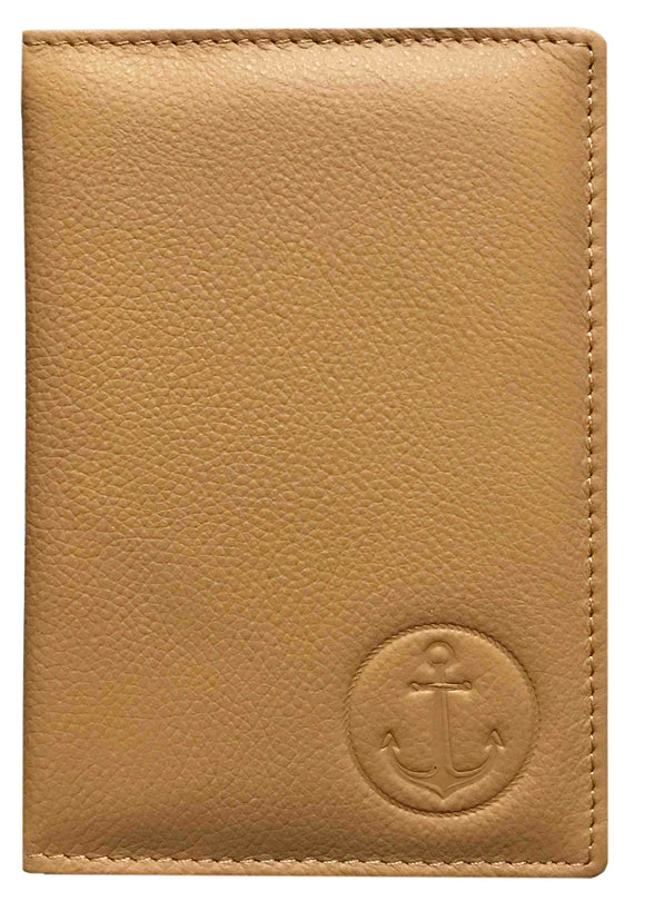 Premium Quality Passport/CDC/COC Holder-BIEGE