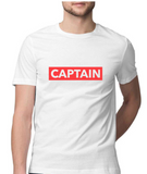 Nautical T-shirt-CAPTAIN