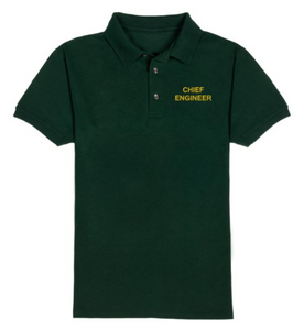 CHIEF ENGINEER T-Shirt-Green