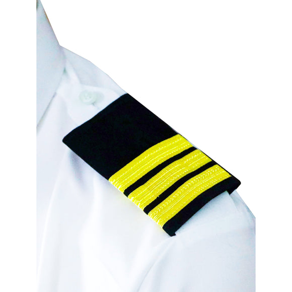 Professional Mariner Epauletes-3 bars-Chief Officer-Blazer Cloth