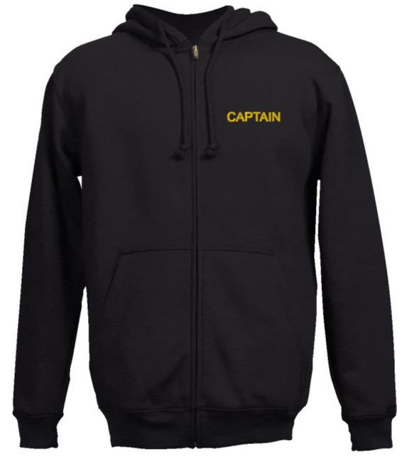 Captain Sweatshirt-Black
