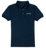 CAPTAIN T-Shirt-Navy Blue
