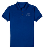 CHIEF OFFICER T-Shirt-Royal Blue