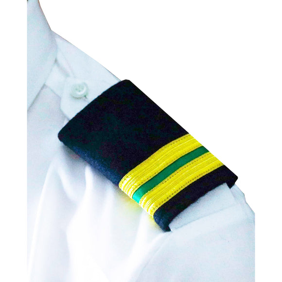 Professional Mariner Epauletes-2 bars-Electrical Engineer-Blazer Cloth