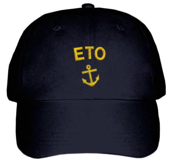 ETO CAP-Embroidered-Black