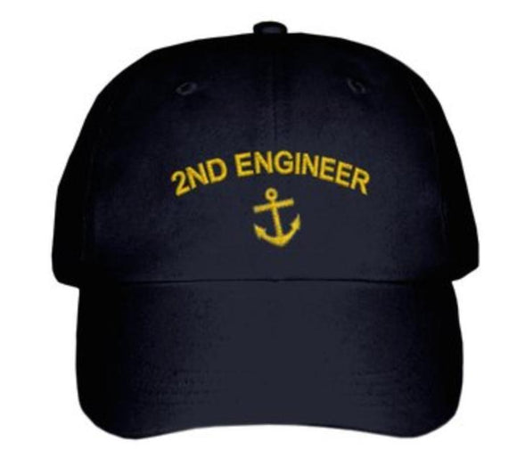 2E CAP-Embroidered-Black