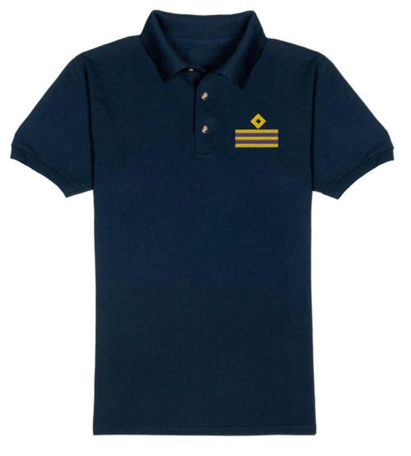 RANK T-Shirt-2E-Navy Blue