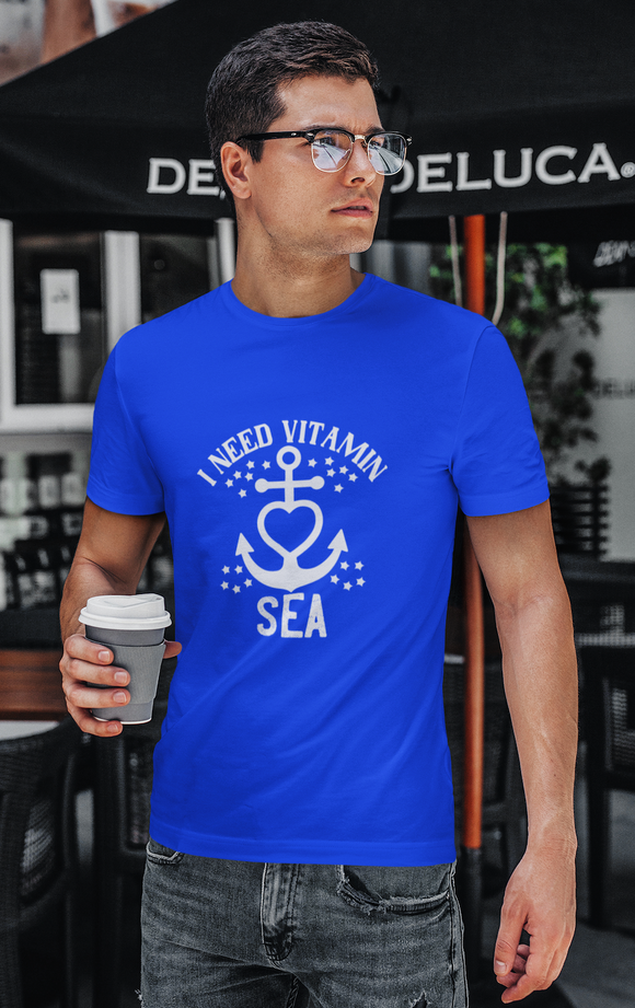 VITAMIN SEA T-shirt-ROYAL BLUE
