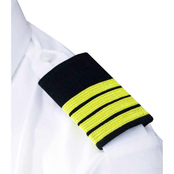 Professional mariner epauletes-4 stripes-Captain-Blazer cloth