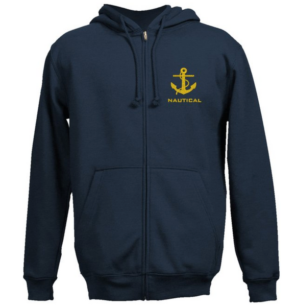 NAUTICAL SweatShirt-Navy Blue