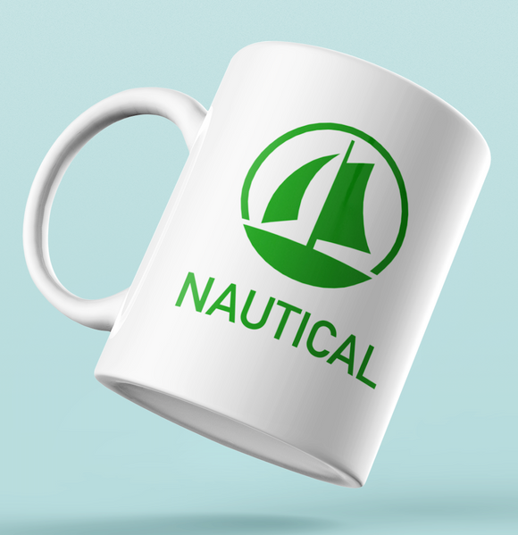 Designer Mug-NAUTICAL Green