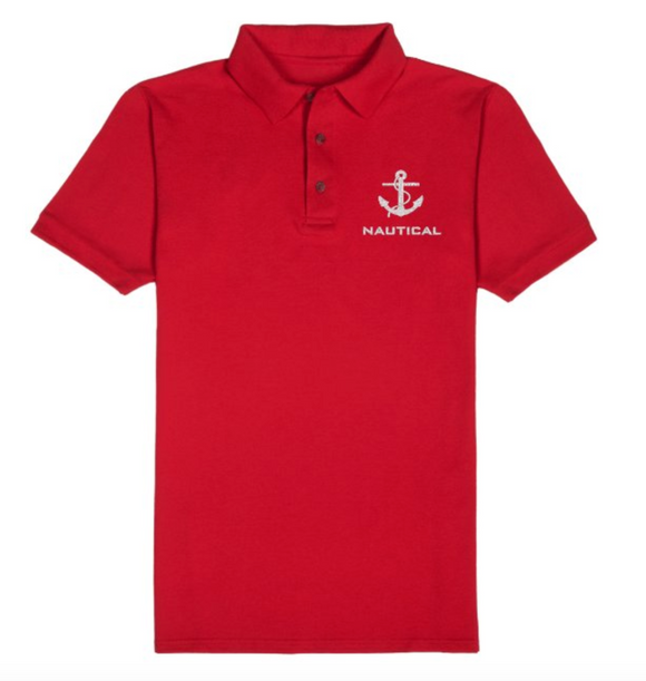 Nautical T-Shirt-Red
