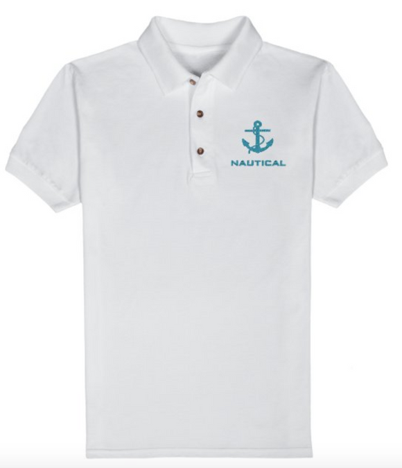 Nautical T-Shirt-White