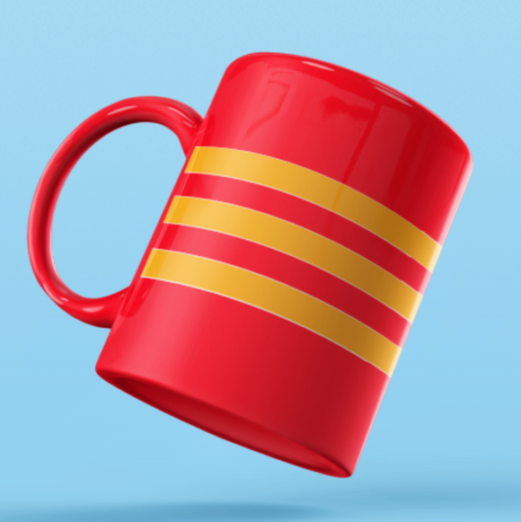 Rank Mug-CO Mug without dia-RED