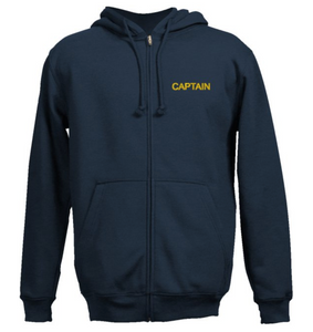 Captain's SweatShirt-Navy Blue