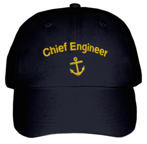 Chief Engineer's CAP-Embroidered