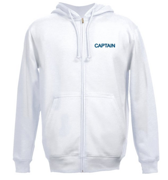 Captain's SweatShirt-White
