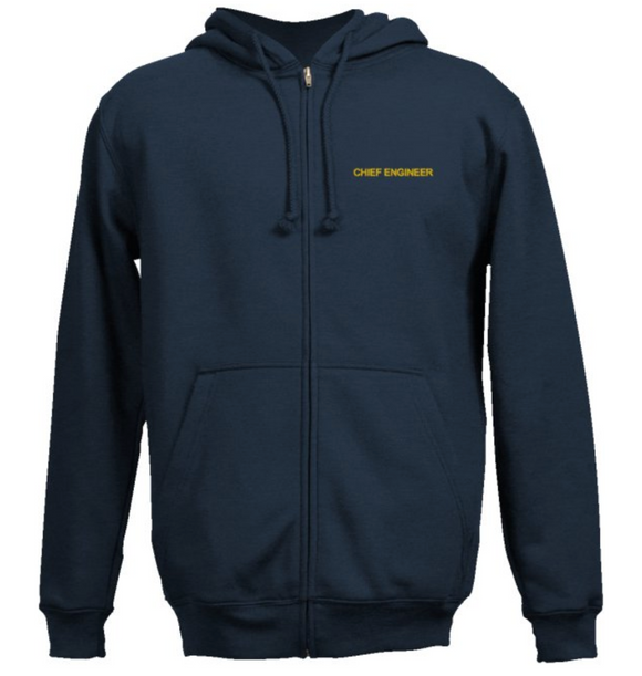 Chief Engineer's SweatShirt-Navy Blue
