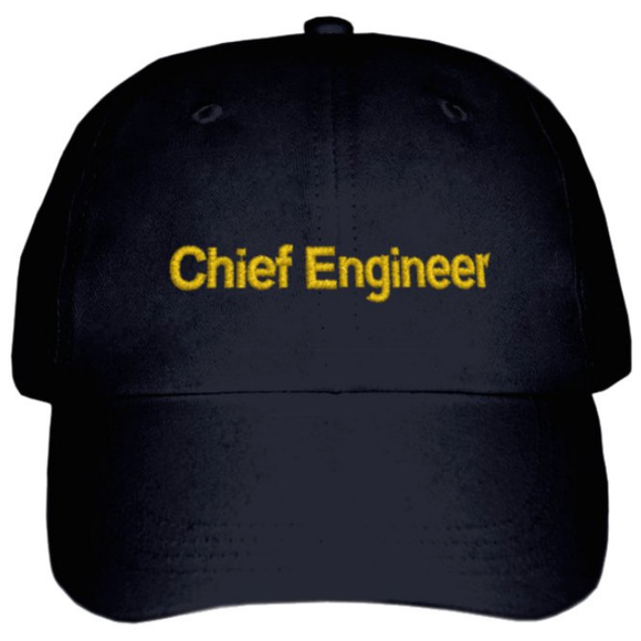 Chief Engineer's CAP-Black
