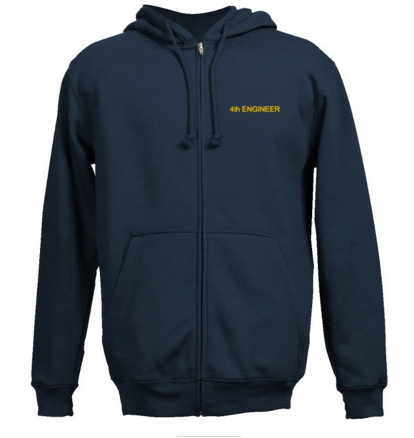 Fourth Engineer's SweatShirt-Navy Blue