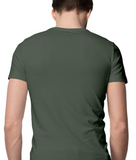 T-shirt-Vintage Nautical-Olive Green