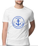 T-shirt-Vintage Nautical-White