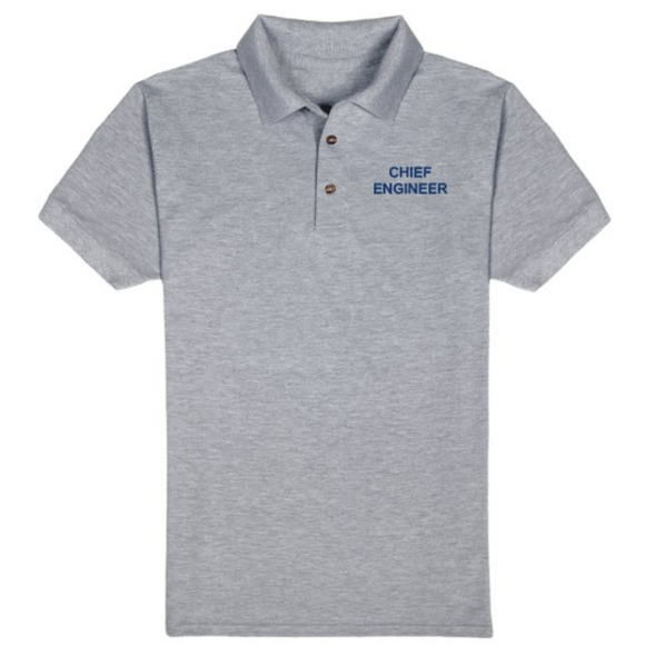 CHIEF ENGINEER T-Shirt-Grey