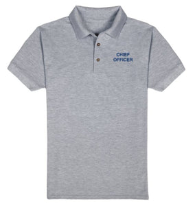 CHIEF OFFICER T-Shirt-Grey
