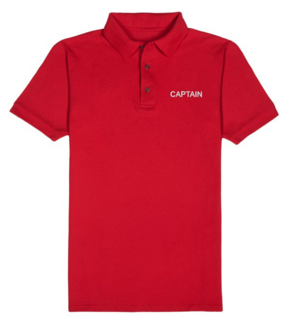 T-Shirt-Red-CAPTAIN