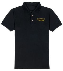 T-Shirt-Black-ELECTRICAL OFFICER