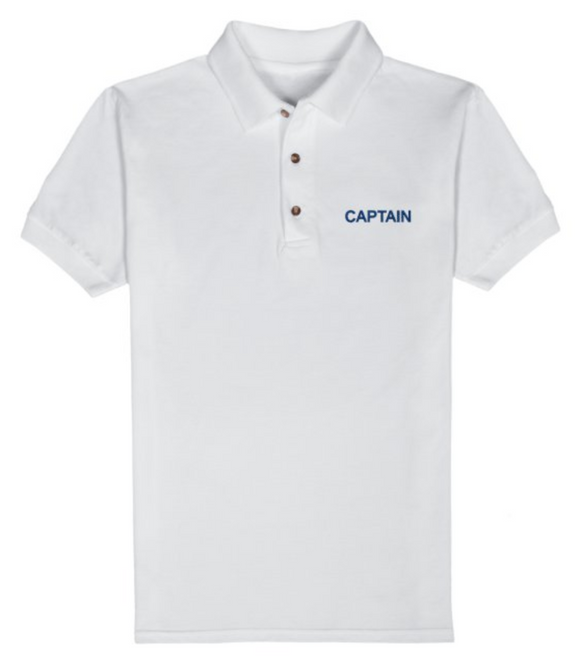 T-Shirt-White-CAPTAIN