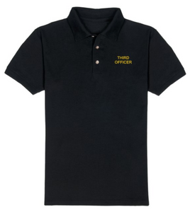T-Shirt-Black-THIRD OFFICER