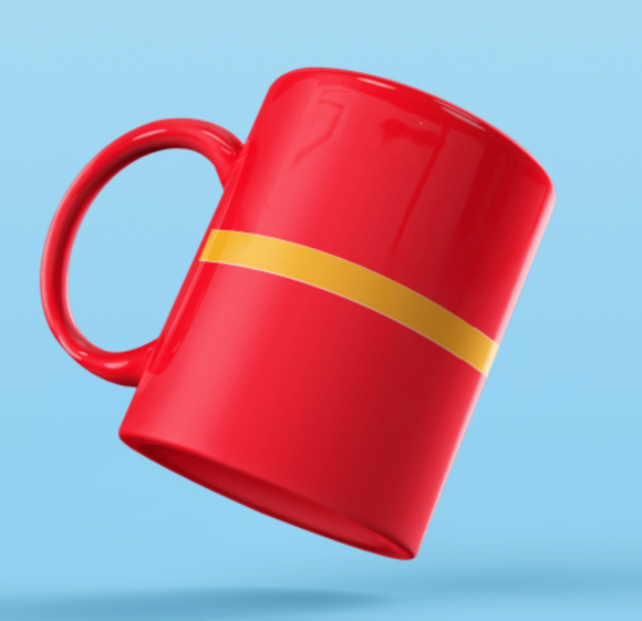 Rank Mug-3O Mug without dia-RED